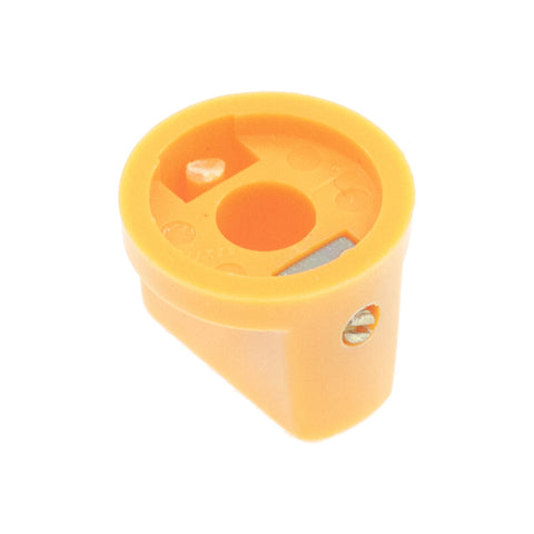 1510 Orange Plastic Knob (19 x 14mm)