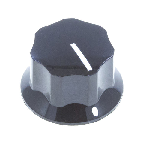 MXR2-PH Series Fluted MXR Phenolic Knob (25.3 x 15.1mm)