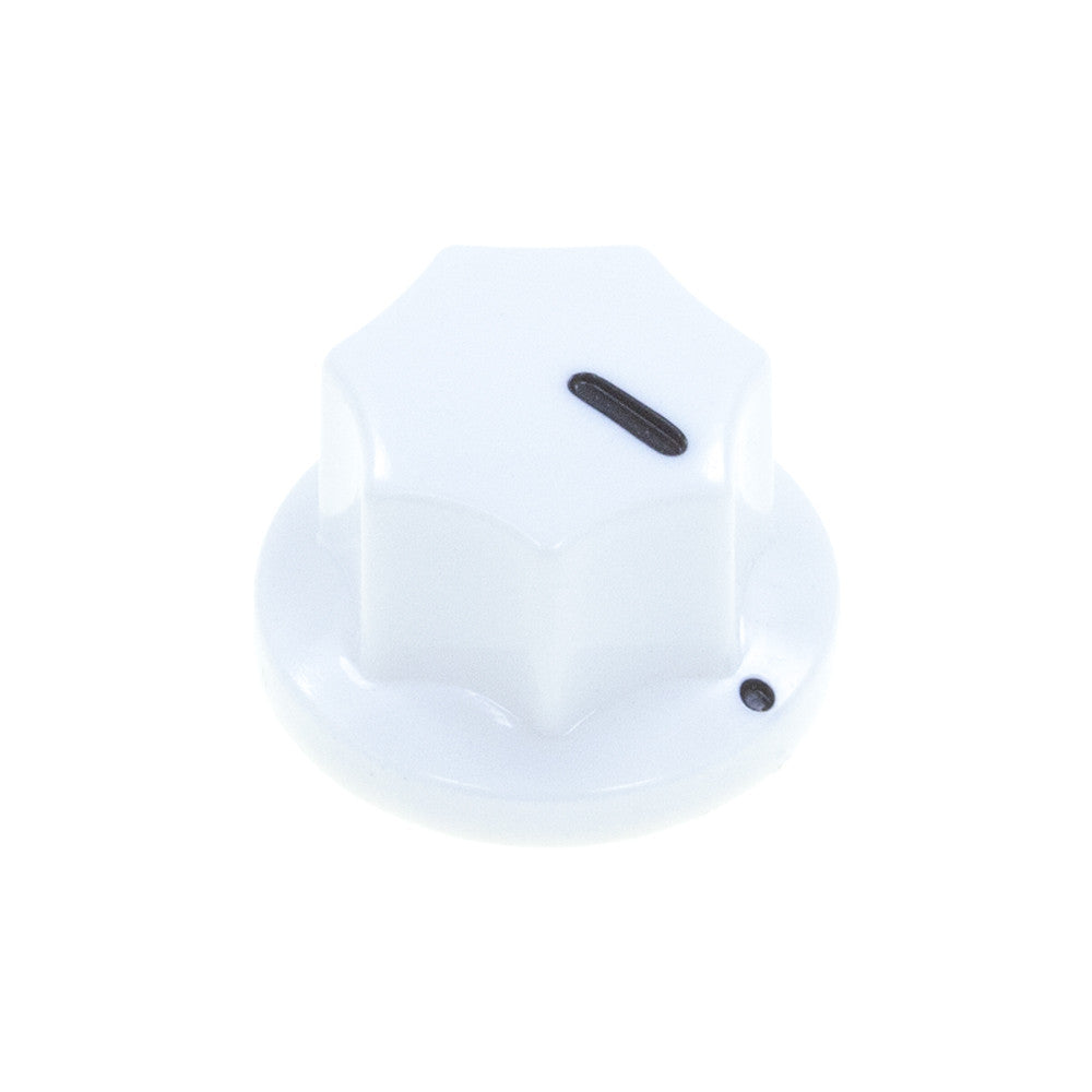 MXR3-PH Series Fluted Phenolic Knob (19.1 x 12.3mm) - Mammoth Electronics