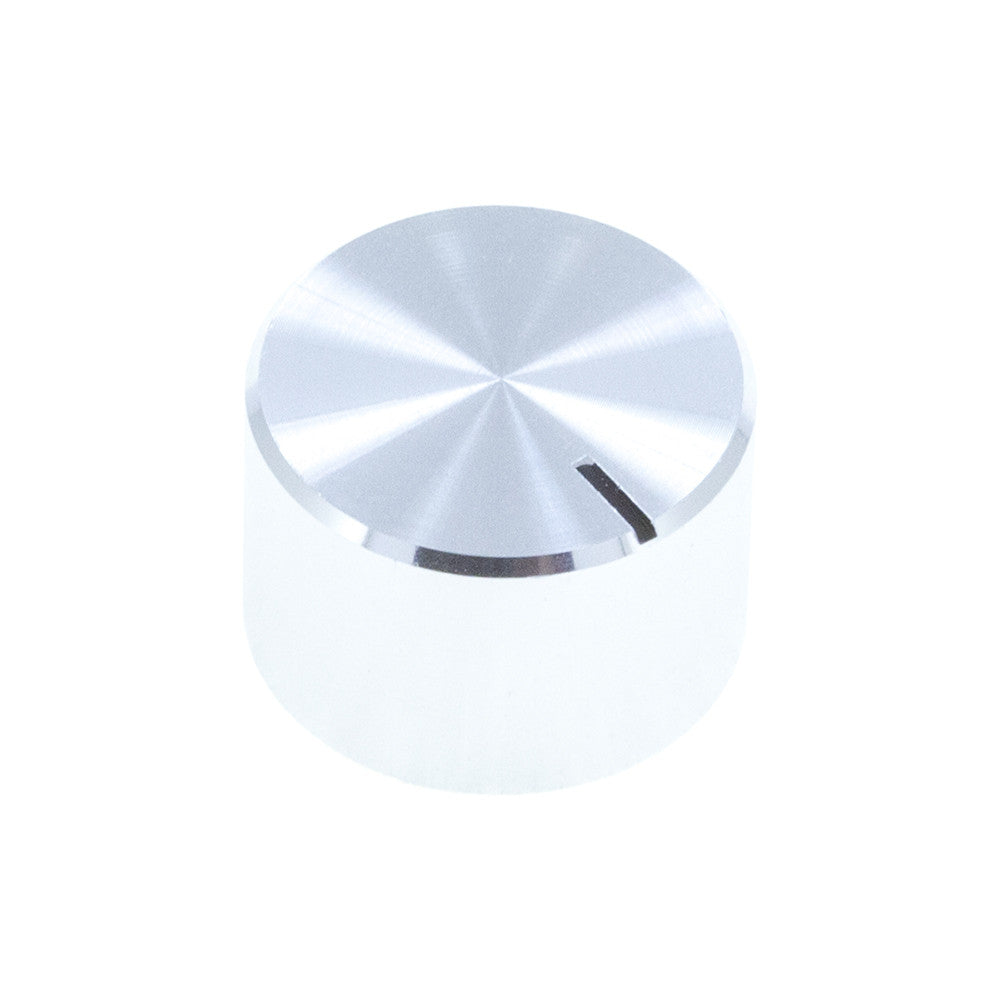KA-18X12UN - Brushed Aluminum Knob (18 x 12mm) - Mammoth Electronics