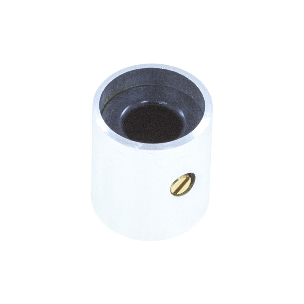 4SKA-14X16UN - Brushed Aluminum Knob (14 x 16mm) - Mammoth Electronics