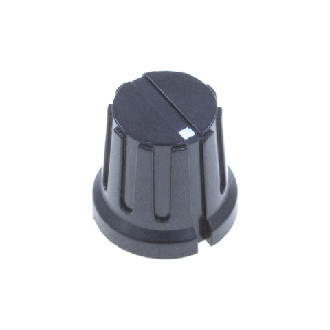 KP-16X15F Series Plastic Fluted Control Knob (16 x 15mm)