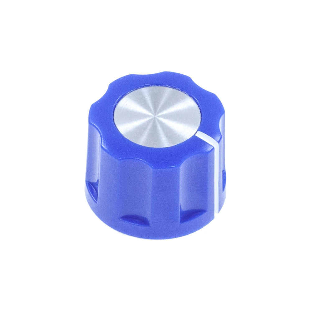 1360 Series -ABS Fluted Mirror Cap Knob (15.3 x 11.7mm) - Mammoth Electronics