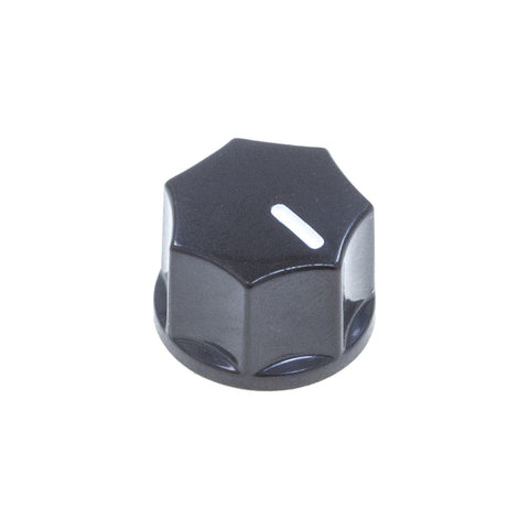 1250 Series Fluted Plastic Knob (14.5 x10.5mm) - Mammoth Electronics