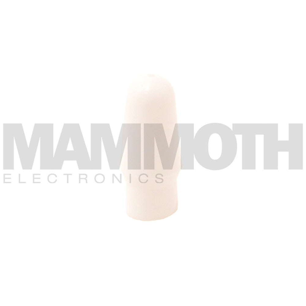 <b>TS-T1CAP-WH</b><br>Toggle Switch Cap<br><i>White</i> - Mammoth Electronics