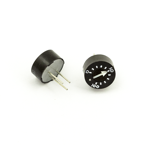 93PR10KLF 10K Ohm Thumbwheel Trim Potentiometer - Mammoth Electronics