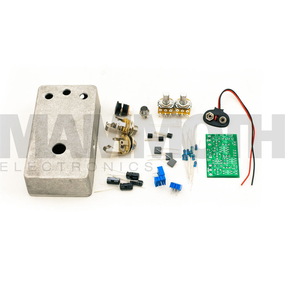 Guitar Effect Pedal Kits Diy Build Your Own Mammoth Selector Switch Wiring Diagram Bamerican Fuzz Bbrfuzz Kit