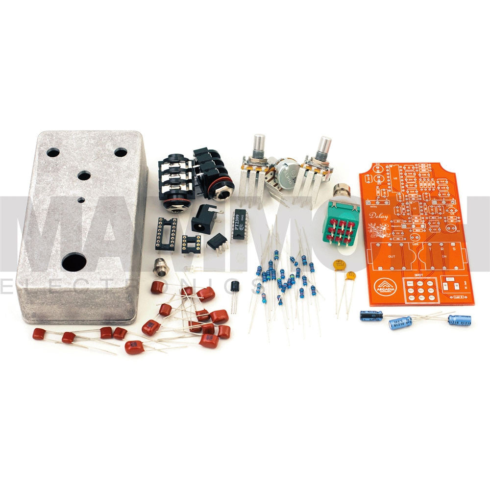 DIY Delay Pedal Kit - Arcadia Electronics