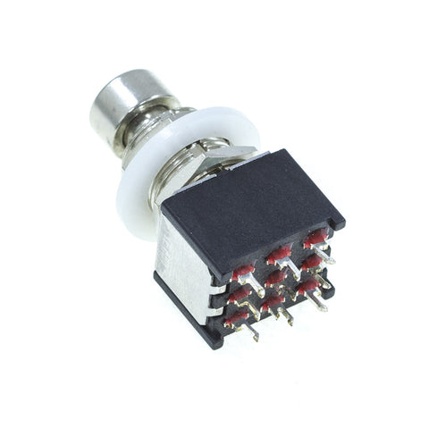 <b>FS3PDT-MS(I)</b><br>3PDT <i>Momentary</i><br>Solder Lug<br>Footswitch - Mammoth Electronics