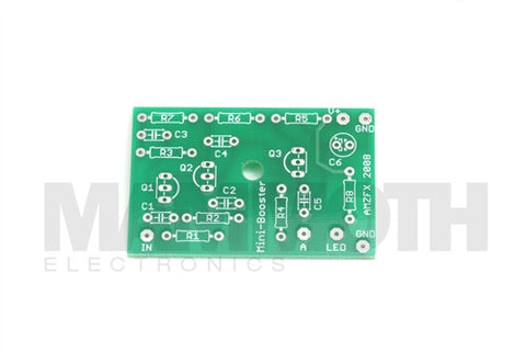 <b>'Mini Booster & Buffered Mini Booster'</b><br>Booster Kit<br><i>Jack Orman</i> - Mammoth Electronics