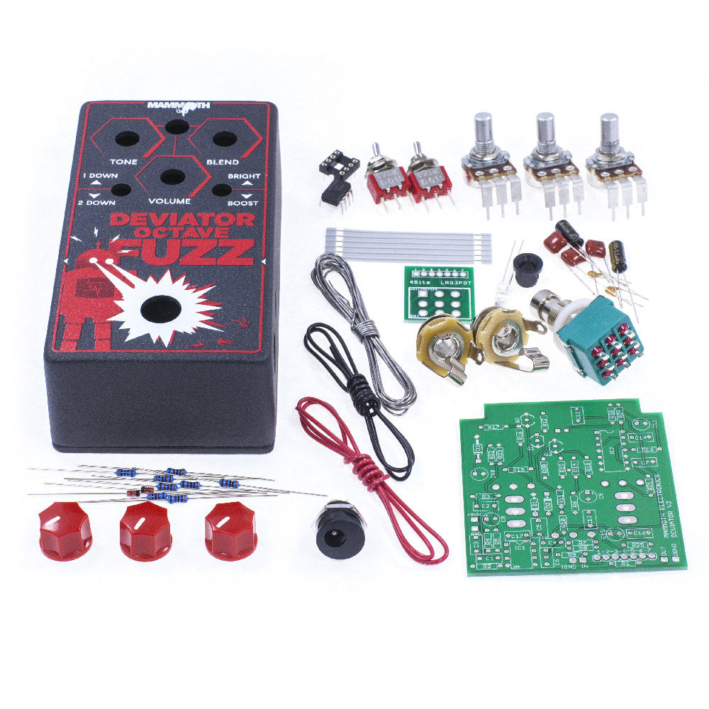 Guitar effect pedal kits diy build your own pedal mammoth bdeviator octave solutioingenieria Choice Image