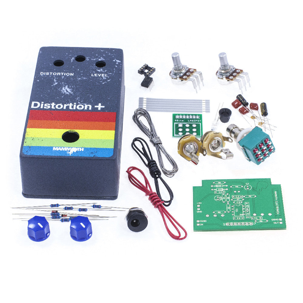 <b>'Distortion +'</b><br>Distortion Plus Kit<br><i>Mammoth Electronics</i>