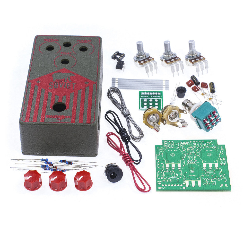 Guitar Effect Pedal Kits Diy Build Your Own Mammoth Power Supply Circuit Board For Pedals And Stomp Electronics