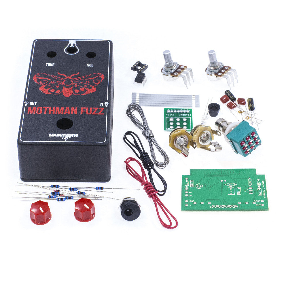 <b>'MothMan Fuzz'</b><br>Fuzz Kit<br><i>Mammoth Electronics</i>
