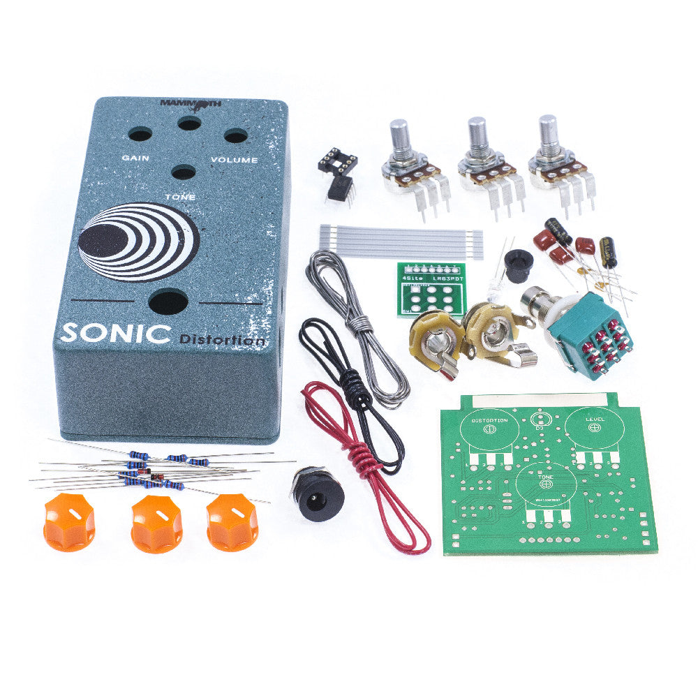<b>Sonic Distortion</b><br>Distortion Kit<br><i>Mammoth Electronics</i>