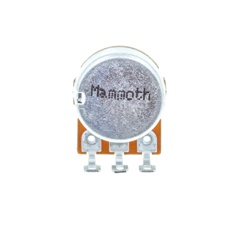 <b>Mammoth or Alpha Potentiometer</b><br>Linear (B)<br>16mm Single Gang<br>Solder Lug<br>