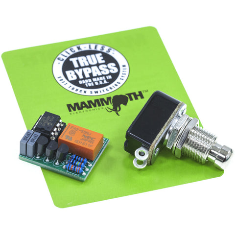 <b>Click-Less True Bypass Kit</b><br>• 1 Relay Module<br>• 1 FSSPST-M - Mammoth Electronics