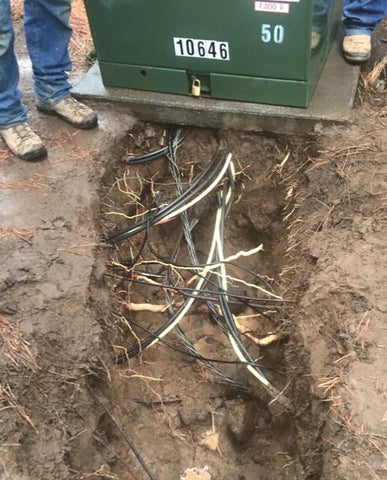 Storm Water Services Oregon - hydro excavation to safely expose underground utilities
