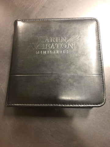 Karen Wheaton Music Collection - Leather Binder