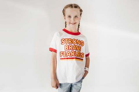 Strong Brave - Youth Shirt