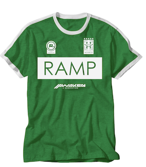 Ramp Soccer Shirt - ADULT GREEN