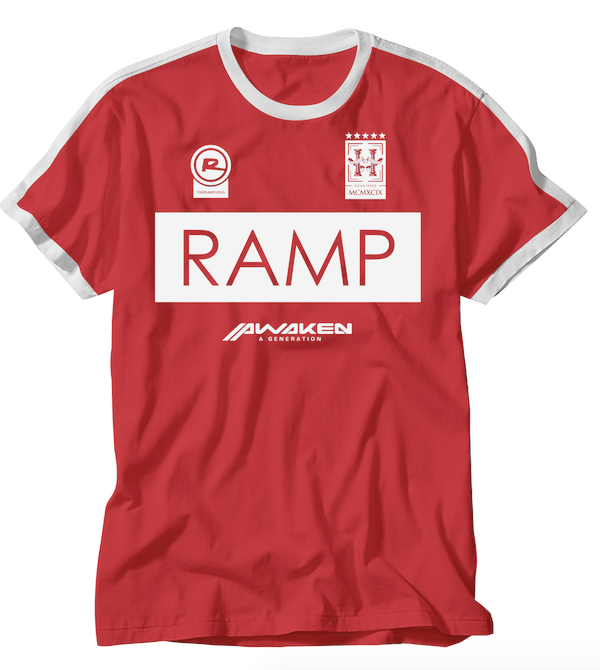 Ramp Soccer Shirt - ADULT RED