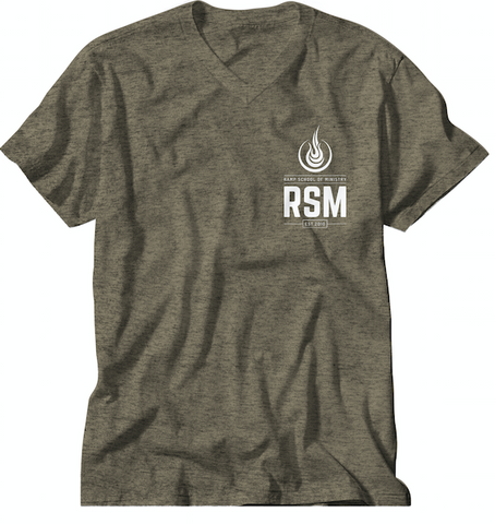 RSM Pocket Logo Shirt - Olive