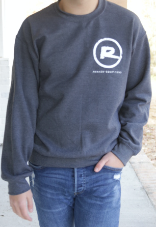 Vintage Logo Sweatshirt - Dark Gray