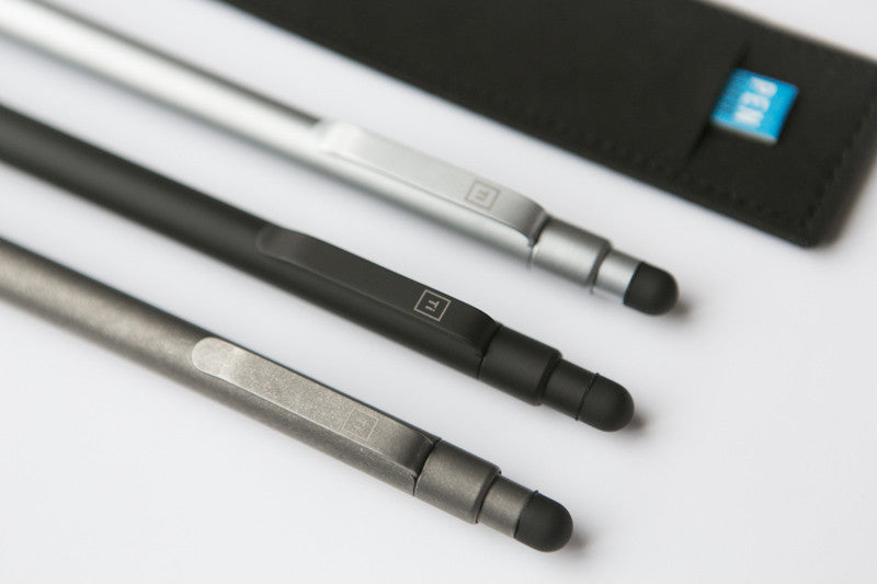 Ti Click Pro : Solid Titanium Click Pen - Big Idea Design LLC