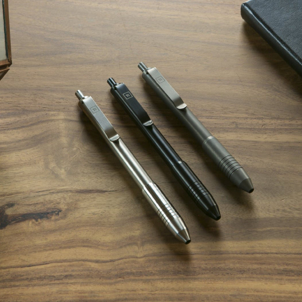 Ti Click EDC Pen (PRE ORDER) - Big Idea Design LLC