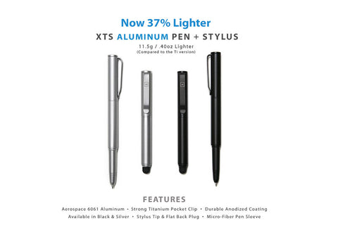 XTS Aluminum Pen + Stylus - Big Idea Design LLC