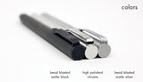 Solid Titanium Pen + Stylus - Big Idea Design LLC