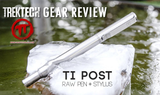 Ti POST RAW Pen + Stylus - Big Idea Design LLC - INTL