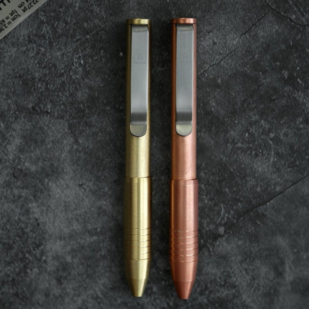 Brass & Copper Pocket Pro Pen (Pre-Order)