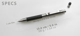 Titanium Mechanical Pencil + Stylus - Big Idea Design LLC - INTL
