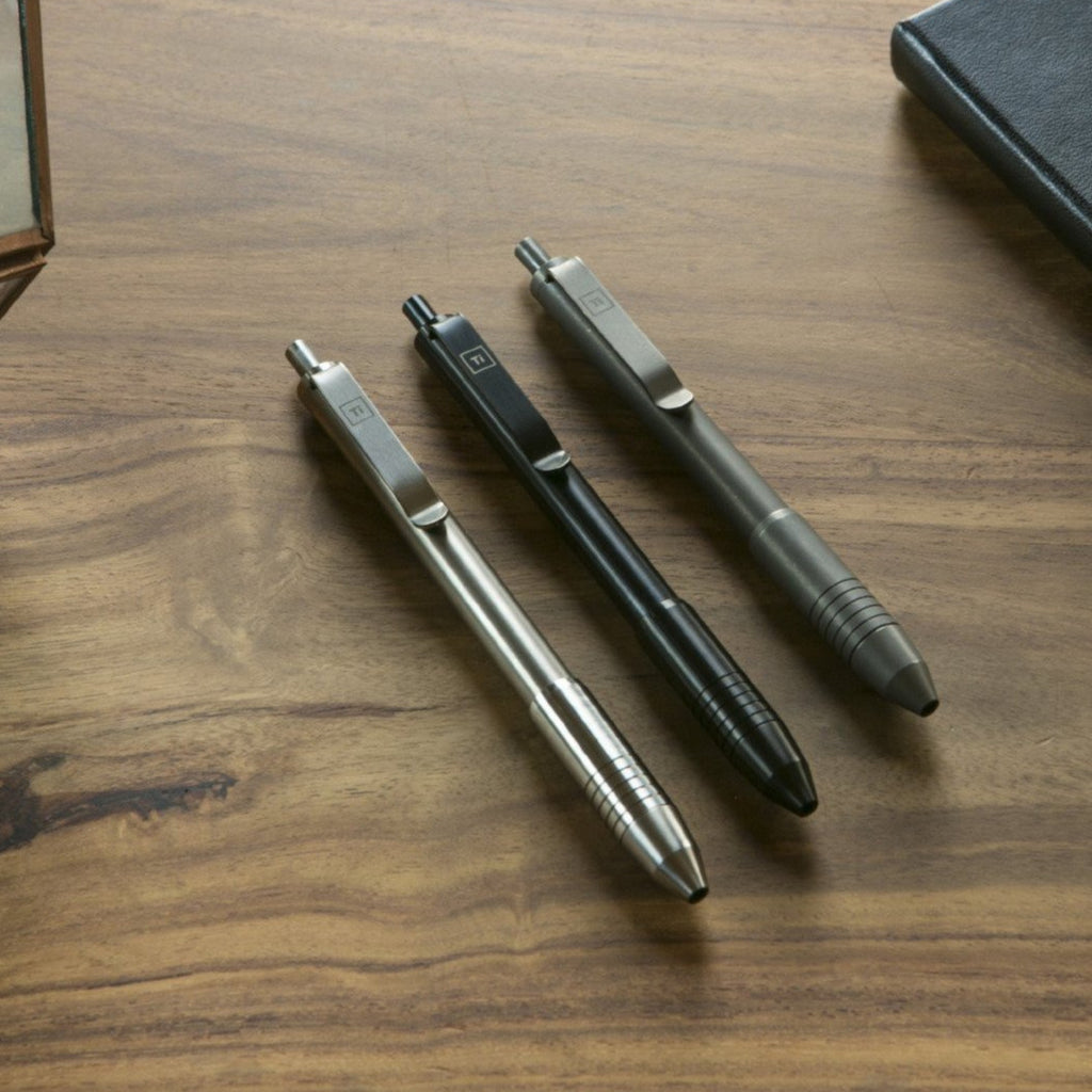 Ti Click EDC Pen (PRE ORDER) - Big Idea Design LLC - INTL