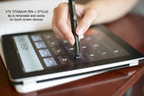 XTS RAW Titanium Pen + Stylus - Big Idea Design LLC - INTL