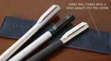 Solid Titanium Pen + Stylus - Big Idea Design LLC - INTL