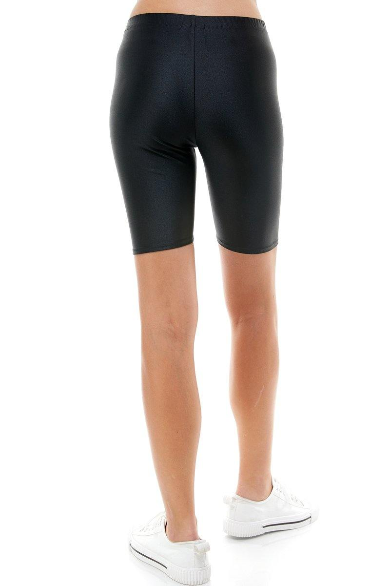 SUPER STRETCH COMFY YOGA FABRIC BIKER SHORT