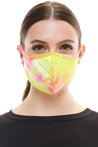 Fashion mask ear loop washable reusable black burgundy fabric face mask