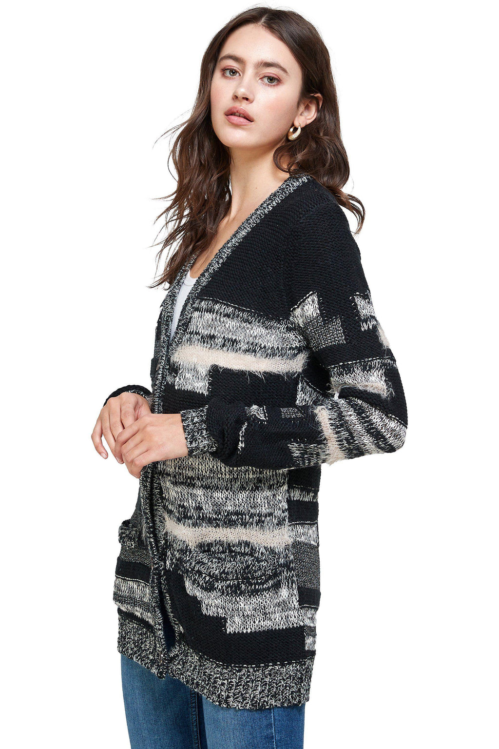 Women's Cardigan Top Sweater Fashion Cardigan Tops
