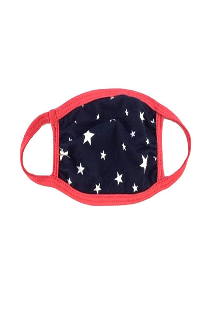 Baby Toddler Face mask with Designed ear loop cloth fabric face mask