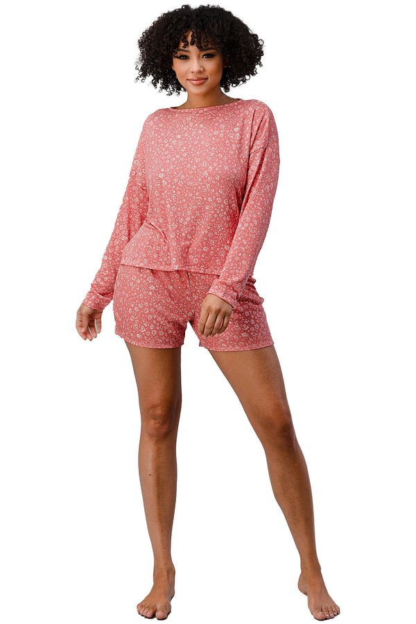 Ditsy Floral Short Lounge wear set