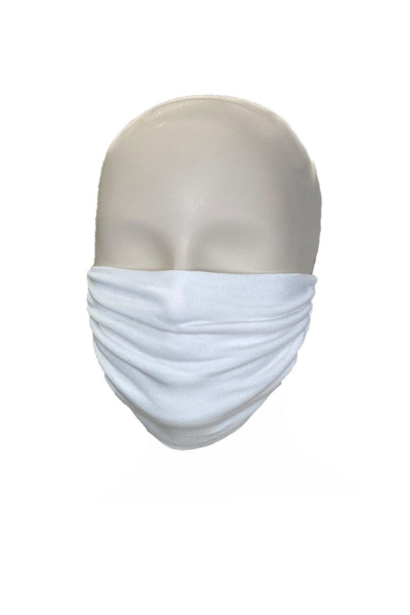 Stretchable elastic satin head loops washable reusable face mask