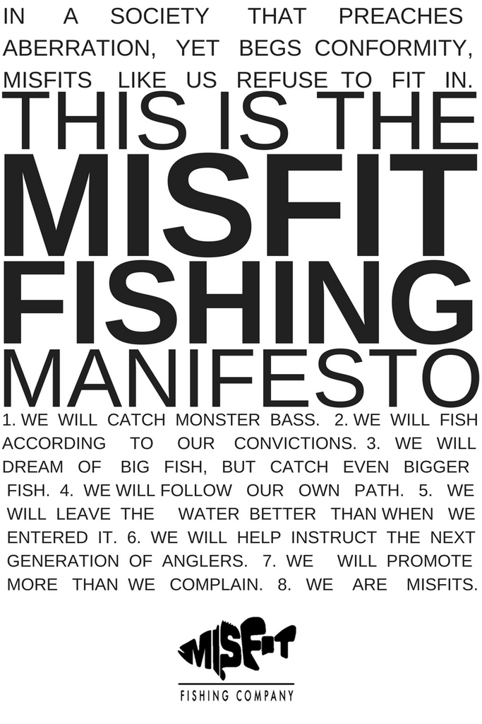 The Misfit Fishing Manifesto