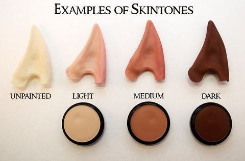 Elf Ear color chart