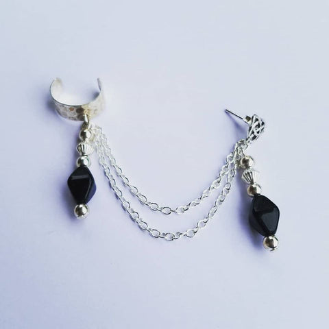 Black Royal Chain Cuff