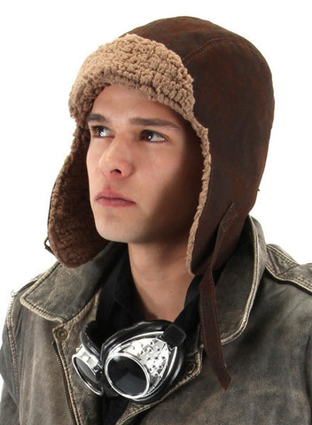 Lined Aviator Hat