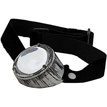 Monovision Silver and Clear Monocle