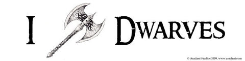 Dwarves Bumper Sticker